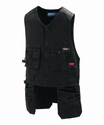 CLEARANCE Blaklader 3105 Waistcoat 65% Polyester/35% Cotton (Black) SMALL